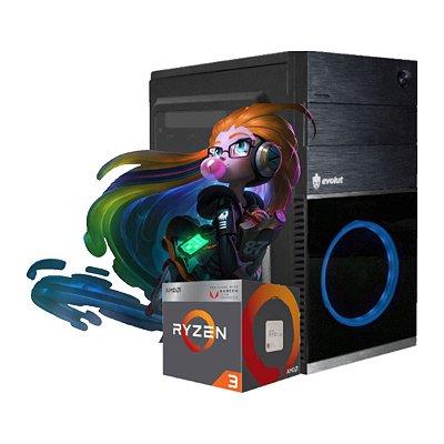 COMPUTADOR GAMER CYBER, RYZEN 3 3200G, 8GB DDR4, SSD 240GB, 500W