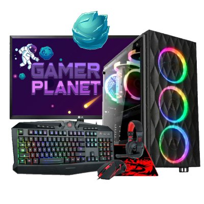 COMBO COMPUTADOR GAMER COMPLETO LEVEL 2, PENTIUM G5400 3.7GHZ 4MB, RX 570 4GB, 8GB DDR4, SSD 240GB