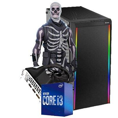 COMPUTADOR GAMER SKULL, I3-10100F, GEFORCE GTX 1650 4GB, 8GB DDR4, SSD 240GB, 500W