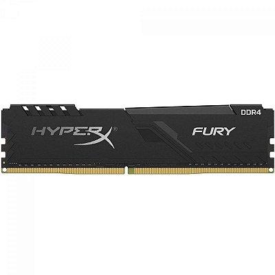 MEMÓRIA DDR4 HYPERX FURY 16GB 2666MHZ BLACK HX426C16FB4/16