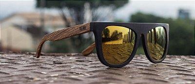 Óculos de Madeira  - FUTURE //GOLD