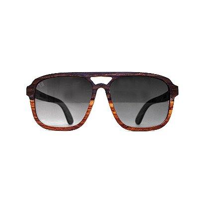 Óculos de Madeira - PALOMA EBONY // Limited Edition - LENS BLACK