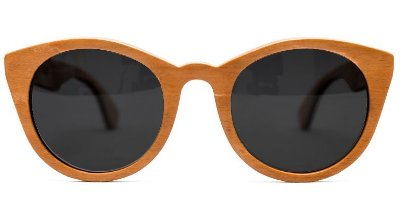 Óculos de Madeira - SNAKEWOOD SKATE NATURAL