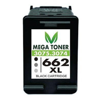 Cartucho de Tinta Remanufaturado Para Hp 662XL CZ105AB Preto Black | Para 1516 2515 2516 2546 3515 | 20ML