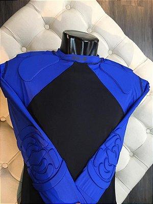 Segunda Pele com Proteção (Azul) - HLX