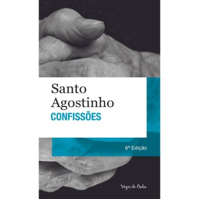 Livro Confissões - Santo Agostinho (brochura)