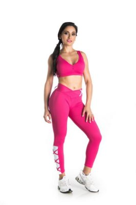 Top piquet Chic rosa