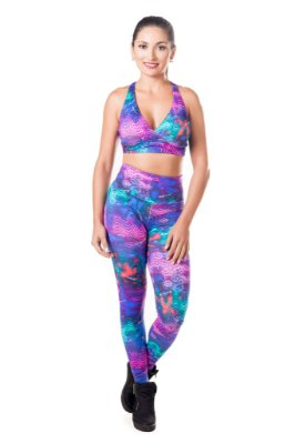 Legging Energy cós alto Roxy