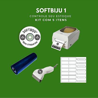 Softbiju 1 - Controle de Estoque Joias e Bijus (5 ITENS)