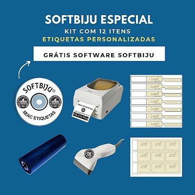 Softbiju Especial Edição Limitada  - Controle de Estoque Joias e Bijus (12 ITENS) -
