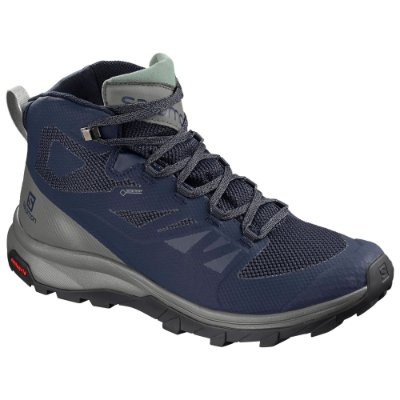 Bota Masculina Salomon Outline Mid GTX