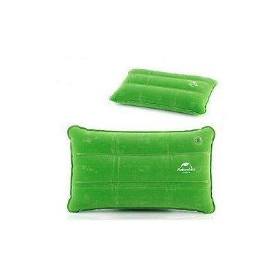 Travesseiro Inflável Camping Verde