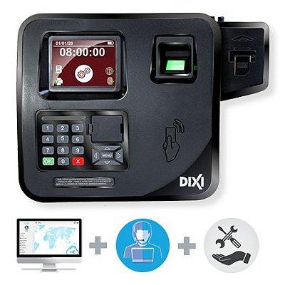 Relógio de Ponto Biométrico IREP + Software Básico + Suporte - Plano Mensal Combo