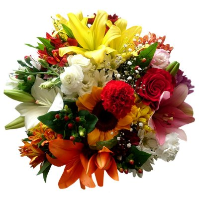 Buquê com Flores Nobres (Médio)