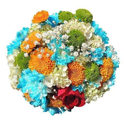 Buquê com Flores do Campo (Médio)