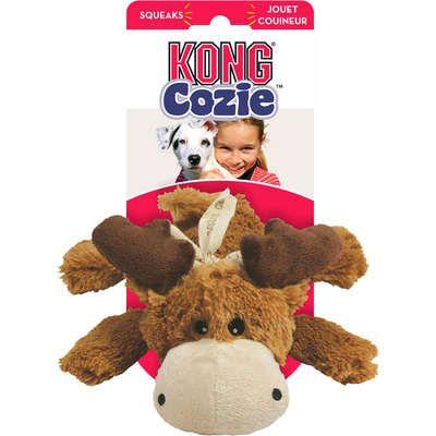 Brinquedo KONG Cozie Marvin Moose Médio para Cães