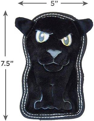 Brinquedo Resistente para Cães Invincibles® Tough Seamz Mini Pantera