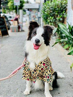 Camisa Estampada Para Cachorro- Animal Print