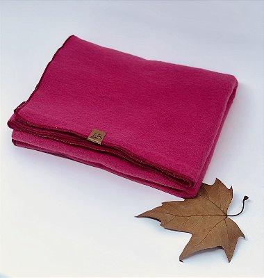 Cobertor Rosa Liso