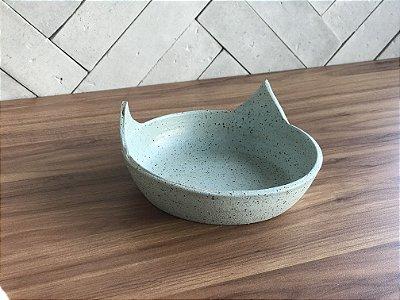 Pote em Cerâmica para Gatos