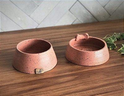 Par de Potes Ceramica - Tam P