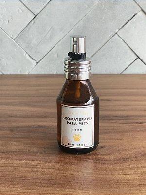 Aromaterapia em Spray para Cachorro - Foco