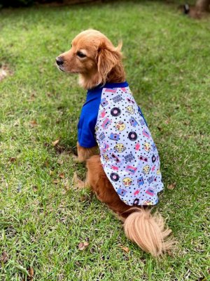 Camiseta para Cachorro e Gato - Good Vibes
