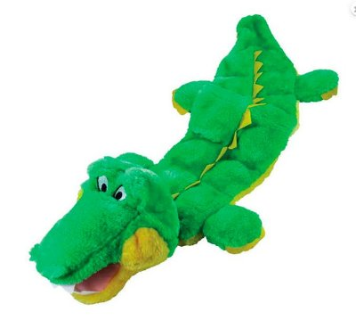 Brinquedo para Cachorro - Mega Squeaker Jacaré Grande