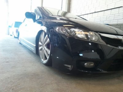 Amortecedor Preparado para New Civic