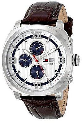 Relógio Tommy Hilfiger 1790968 Unisex – Sport-Luxury – Pulseira de Couro