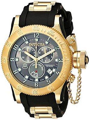 Relógio Invicta masculino Modelo 15564 Russian Diver Quartz Preto