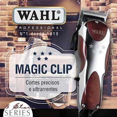 Máquina De Corte Profissional Wahl Magic Clip 5 Star 110v