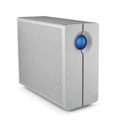 HD Externo LaCie 2Big Quadra 6TB USB 3, USB 2, FireWire 400 e 800 RAID – 9000354
