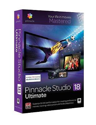 Pinnacle Studio 18 ULTIMATE Captura e Edição de Vídeo - ORIGINAL