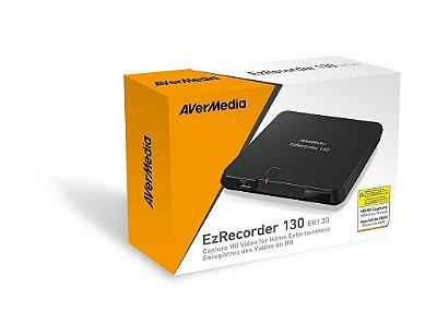 Gravador de Mesa Avermedia EzRecorder 130 HD - Grave seus programas de TV favoritos e os seus Games