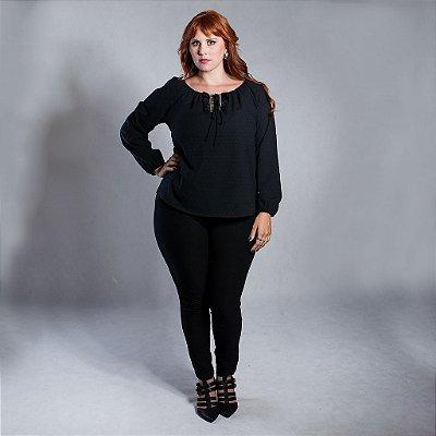 Bata Gypsy Preta - Plus Size