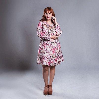Vestido Estampa Exclusiva - Plus Size
