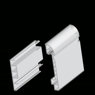 RODAPE PVC 8CM