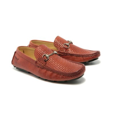 Mocassim Executive Caramelo
