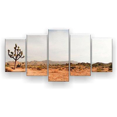 Quadro Decorativo Deserto E Montanha 129x61 5pc Sala