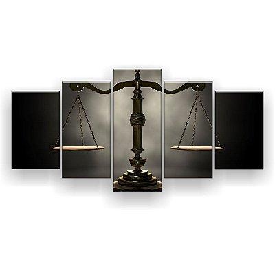 Quadro Decorativo Balança Direito 129x61 5pc Sala
