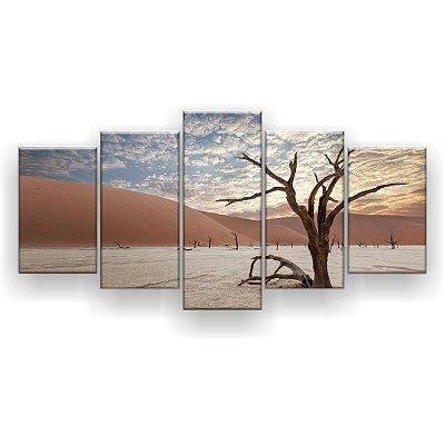 Quadro Decorativo Deserto Do Namibe Sossusvlei 129x61 5pc Sala