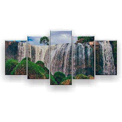 Quadro Decorativo Parque Nacional 129x61 5pc Sala