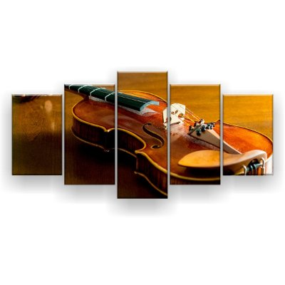 Quadro Decorativo Violino 129x61 5pc Sala
