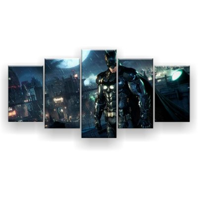 Quadro Decorativo Batman 129x61 5pc Sala