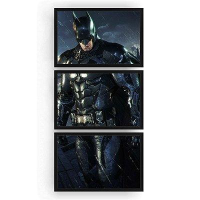 Quadro Decorativo Batman 3PV 60x124 Sala Quarto