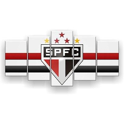 Quadro Decorativo São Paulo Futebol Clube 129x61 5pc