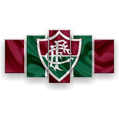 Quadro Decorativo Fluminense Futebol Clube 129x61 5pc