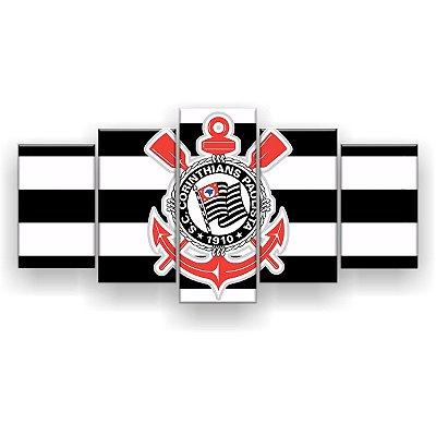 Quadro Decorativo Corinthians Futebol Clube 129x61 5pc