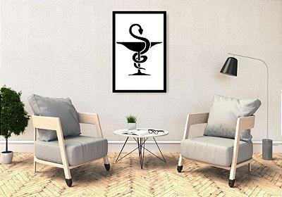 Quadro Decorativo Farmácia 37x57